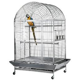 stainless steel bird-cage